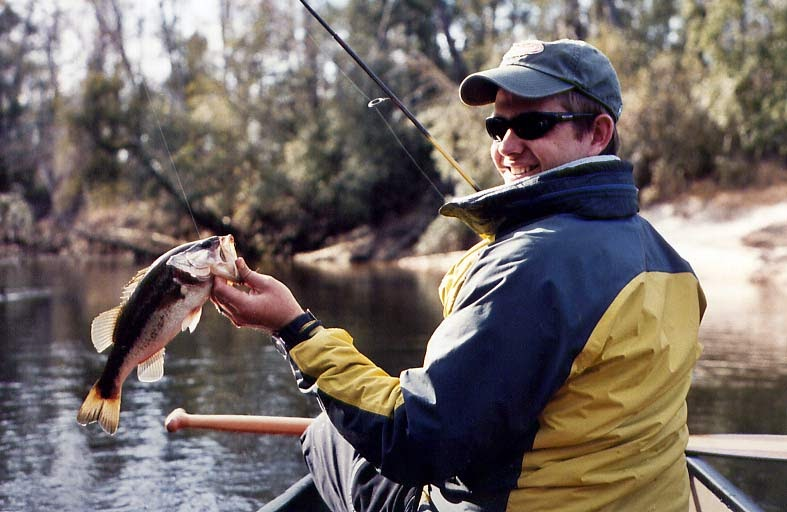 Fishing paddling in alabama styx river for Mobile alabama fishing report