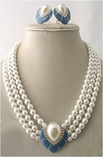 Sale news and Shopping details Narayana Pearl latest Necklace Designs