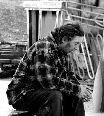 Homem que dorme, Novembro 2007, © António Baeta Oliveira