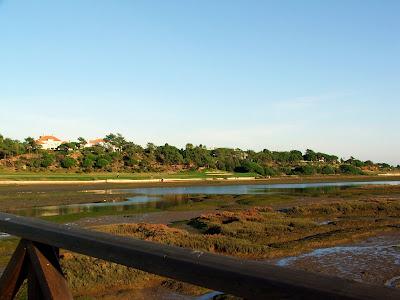 Quinta do Lago sobre a zona da marisma, Novembro 2007, © António Baeta Oliveira