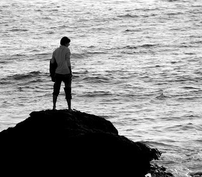 Dominando o mar, Dezembro 2007, © António Baeta Oliveira