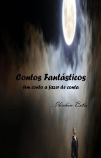 Capa do 1º livro da colecção CONTOS FANTÁSTICOS, de Ibrahim Bates