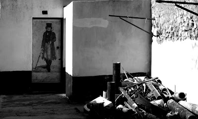 Algures na velha Faro, Dezembro 2007, ©António Baeta Oliveira