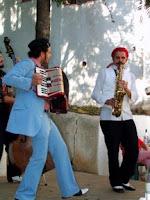 concertina e saxofone