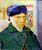 Auto-retrato, Van Gogh