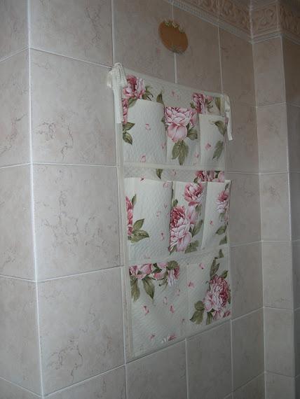 Porta accessori da bagno in stile inglese