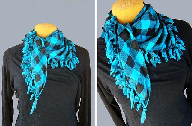 Green Submarine: DIY: no sew scarf