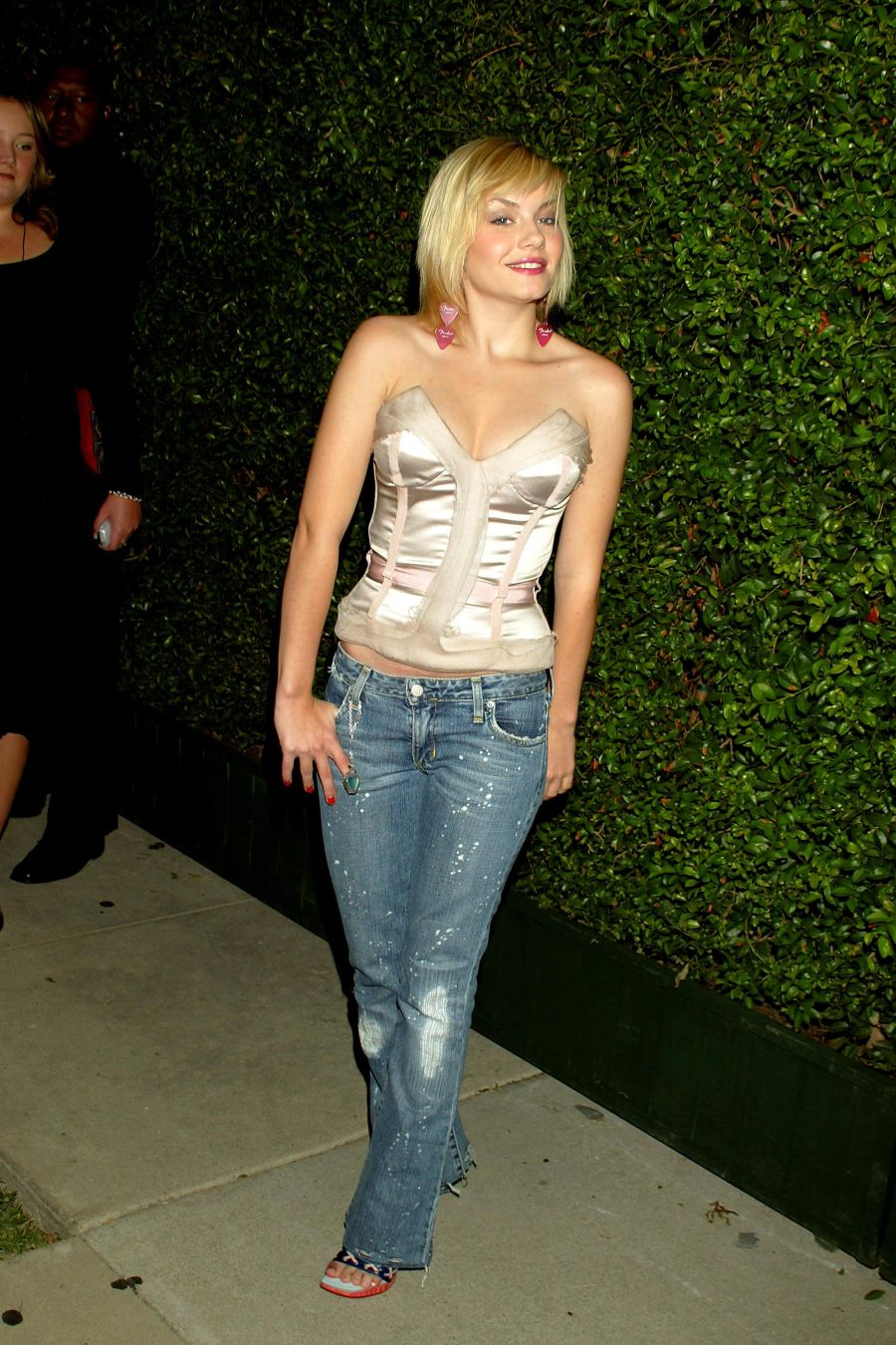 elisha cuthbert in tight jeans clothing jeans