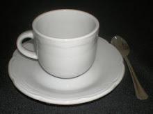 Juego de café modelo Renacimiento