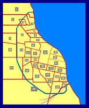 Ubicación, Plano de Rosario, Barrio  Alberdi (4)