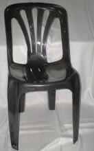 Silla Plástica Negra Reforzada