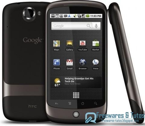 Le site du jour : Test du Nexus One