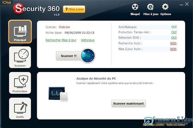Offre promotionnelle : le logiciel IObit Security 360 Pro en version gratuite !