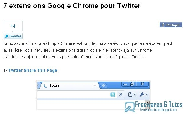 7 extensions Google Chrome pour Twitter