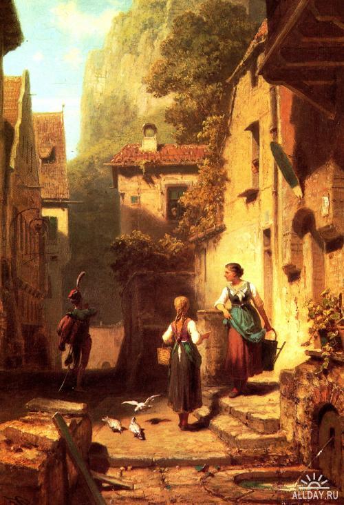 Blog Of An Art Admirer Carl Spitzweg Sweet Old Germany