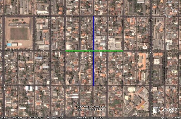 7 - O Cruzamento da Av. Mendonça Furtado com Leopoldo Machado