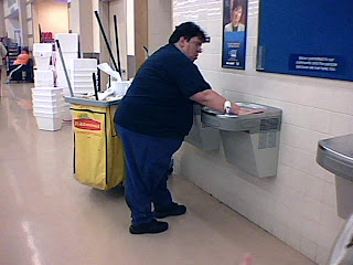 Fat janitor