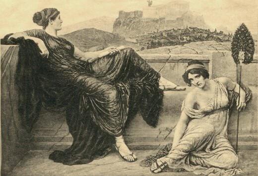sexo con putas prostitutas en la antigua grecia