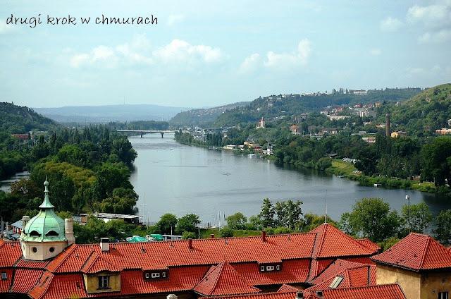 Praga, widok na Wełtawę