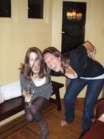 Me, Suzy, a toast to budget fun!
