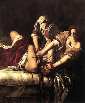 Artemisia Gentileschi, Judith décapitant Holofernes (1611-12)