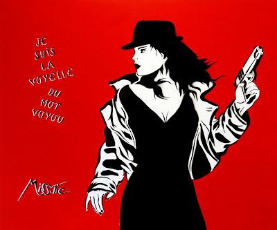 Je Suis La Voyelle Du Mot Voyou, Miss Tic