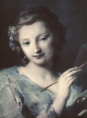 Allégorie de la peinture (1720), Rosalba Carriera