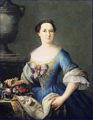 Portrait de Teresa de Verrazzano Nei Vai (1753), Anna Bacherini Piattoli