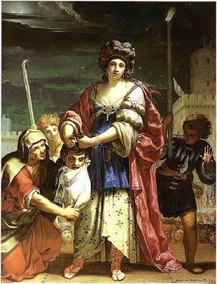Judith et Holopherne, Elisabeth Sirani