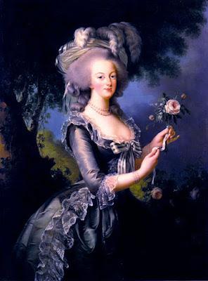 Portrait de la reine Marie-Antoinette, Elisabeth Vigée-Lebrun