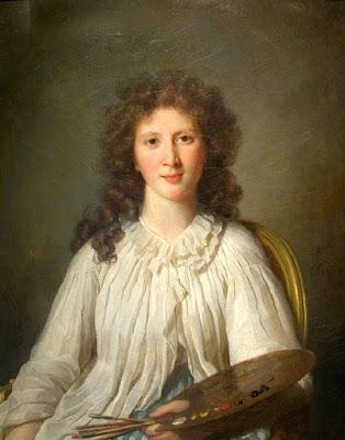 Portrait d'Adélaïde Binard, épouse Lenoir (1796), Marie-Geneviève Bouliard