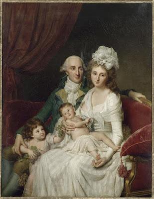 Portrait de M. Olive et de sa famille (1791-92), Marie-Geneviève Bouliard