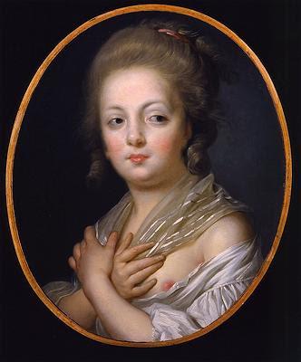 Jeune femme à sa toilette, Jeanne-Philiberte Ledoux