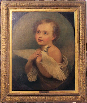 The child with the dove, Jeanne-Philiberte Ledoux