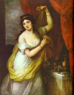 Portrait de femme (1795), Maria Anna Angelica Kauffmann