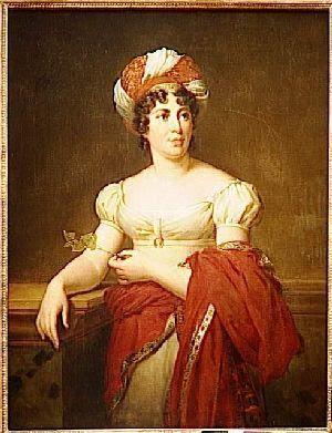 Portrait de Madame de Staël, Marie-Eléonore Godefroid