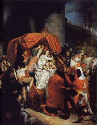 La duchesse de Bourgogne arrêtée aux portes de Bruges, Sophie Rude