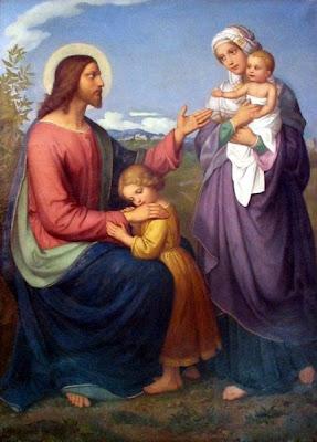 Le Christ bénissant les petits enfants (1845), Anna Maria Ellenrieder