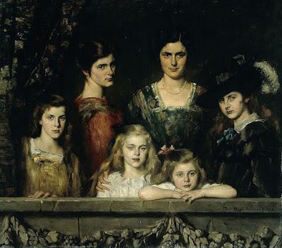 Family Boissevain (1916), Thérèse Schwartze