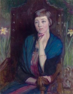 Portrait d'une Amie, Ellen Day Hale