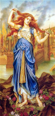 Cassandra (1898), Evelyn de Morgan