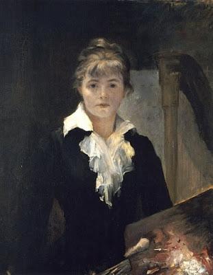 Autoportrait (1880), Marie Bashkirtseff