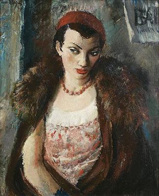 Femme à la Fourrure, Vera Rockline