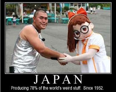 japan weird strange