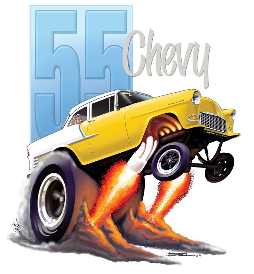Hot Rod Cartoons 51 Fn March 1973: Dels Big Bad Blog Of Kool: Cartoon Cars