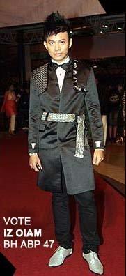 'Best Dressed Male' Anugerah Bintang Popular Berita Harian 2008/2009 | Concept&Design: Hatta Dolmat