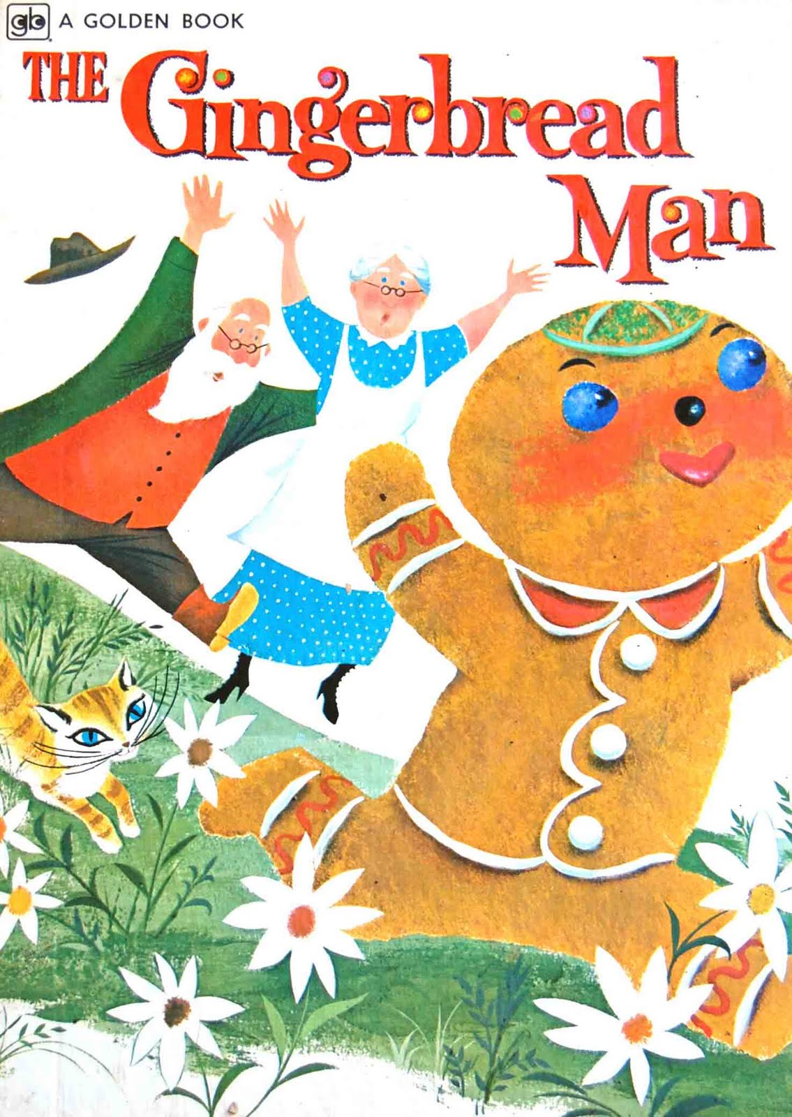 Vintage Kids' Books My Kid Loves: The Gingerbread Man