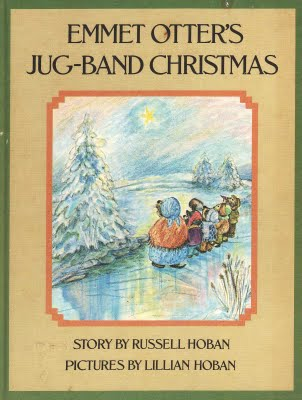 Emmet Otters Jug Band Christmas Book.Vintage Kids Books My Kid Loves Great Monday Give Emmet