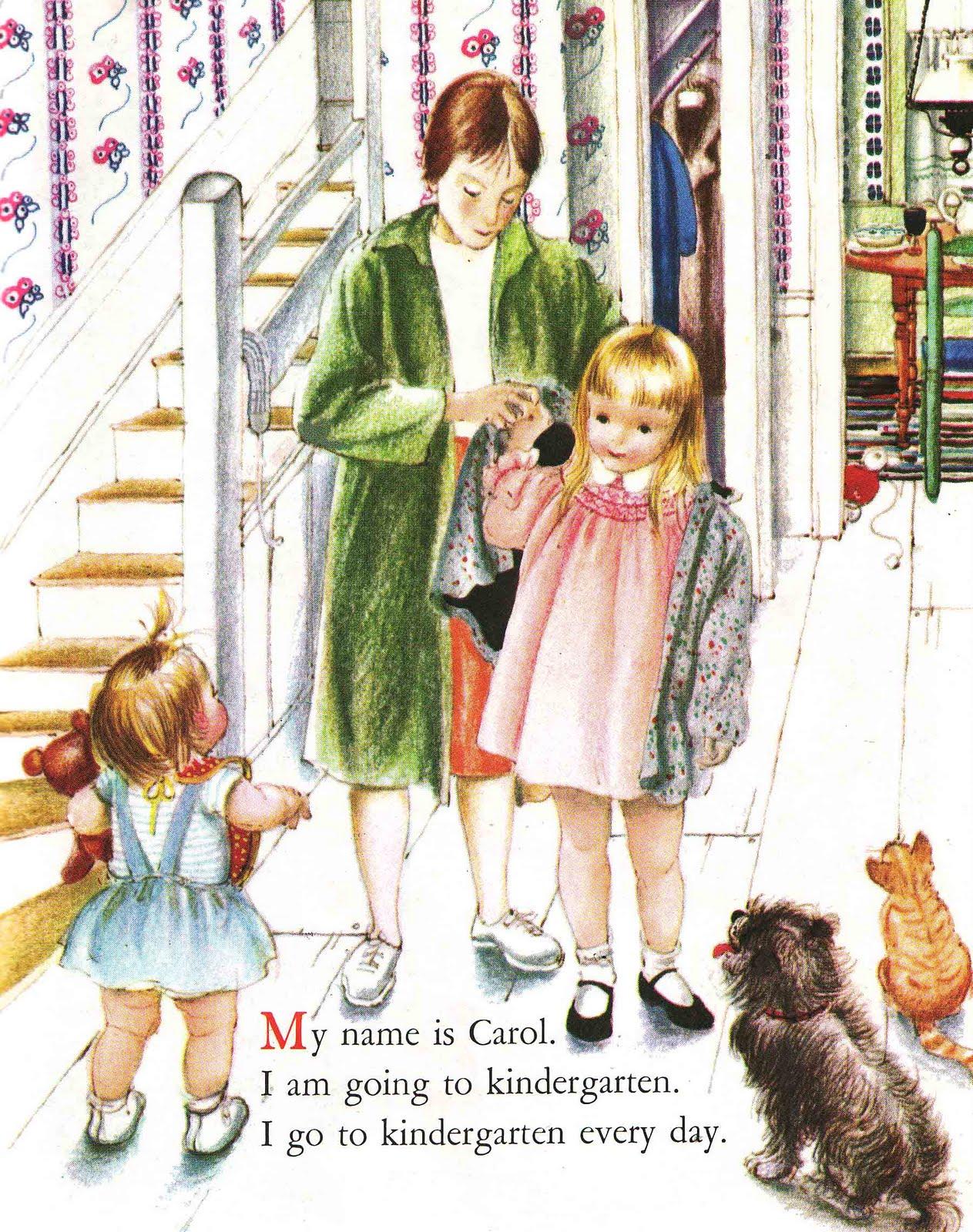Vintage Kids Books My Kid Loves Koko S Kitten: Vintage Kids' Books My Kid Loves: We Like Kindergarten
