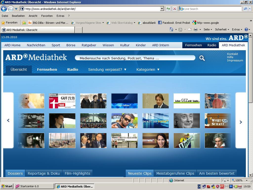 www.ardmediathek.de sendung verpasst